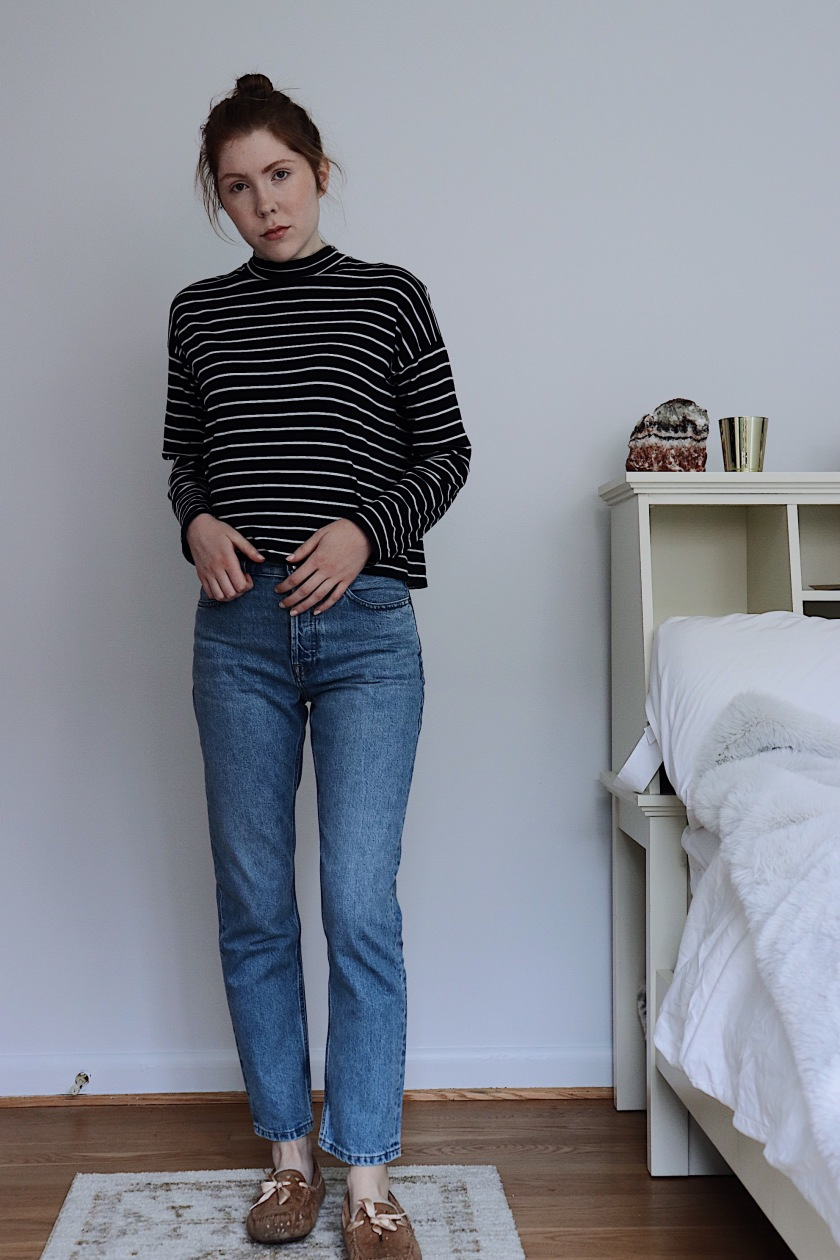 I added myself to the waitlist for Everlane s  90s Cheeky Straight Jean as  soon as I knew they would be released. I ordered them the same morning they  were ...